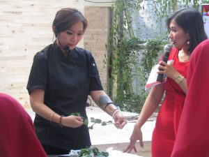 Demo Masak Oleh Chef Rissa Navratilova