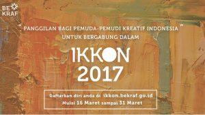 Poster Recruitmen IKKON 2017