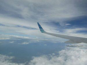 Pemandangan dari Balik Jendela Garuda Indonesia