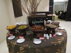 Menu Kalimantanan di Festival Kampung Nusantara HORAIOS Malioboro Hotel