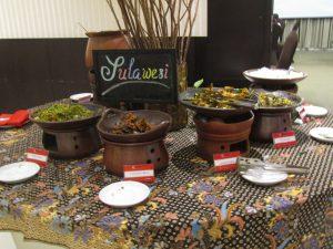 Menu Sulawesinan di Festival Kampung Nusantara HORAIOS Malioboro Hotel