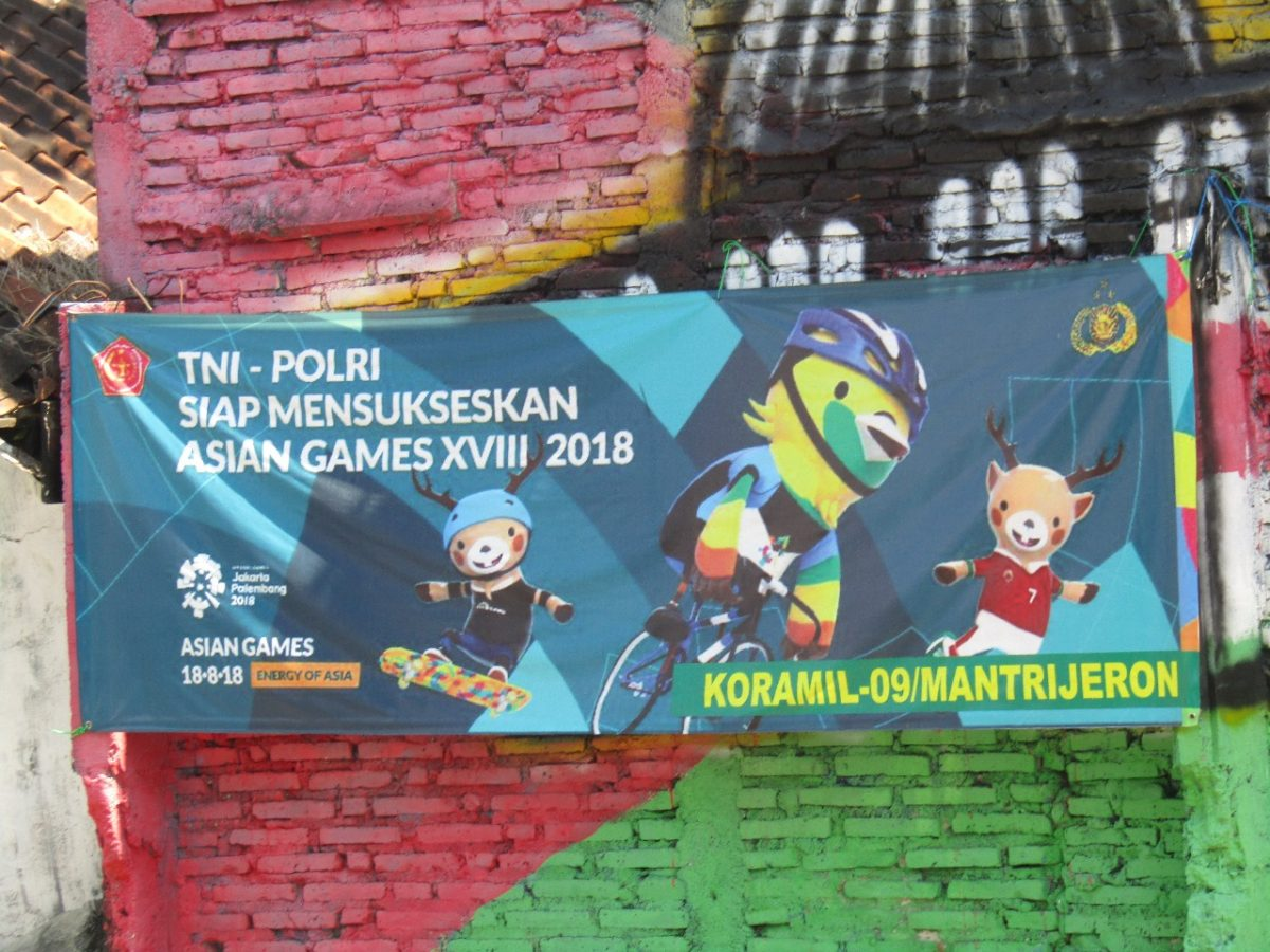 Dukungan Jogja Untuk Asian Games 2018