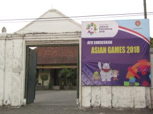Baliho Asian Games 2018