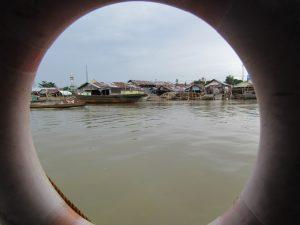 Peradaban Sungai Khas Banjarmasin (Dokumentasi Pribadi)