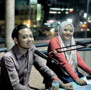 Siaran di J Radio Banjarmasin (Dokumentasi Sandi)