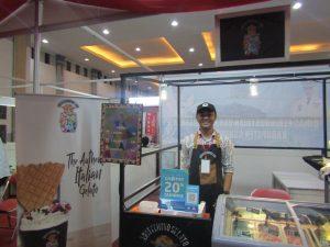 Stand Arlecchino Gelato di Jogja Halal Food EXPO 2019 (Dokumentasi Pribadi)