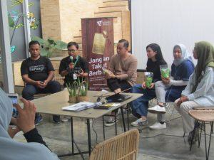 Launching Gerakan Jangan Takut Berbagi di Jogja