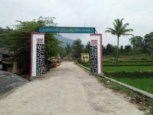 Gapura Makam Syekh Jafar Shiddiq Sunan Haruman (Dokumentasi: Milari)