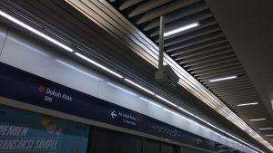 CCTV MRT diambil Dari Stasiun Dukuh Atas