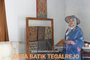 Inspirasi dari Desa Batik Tegalrejo: Ketika Potensi Alam Disajikan Melalui Ragam Produk Kekinian