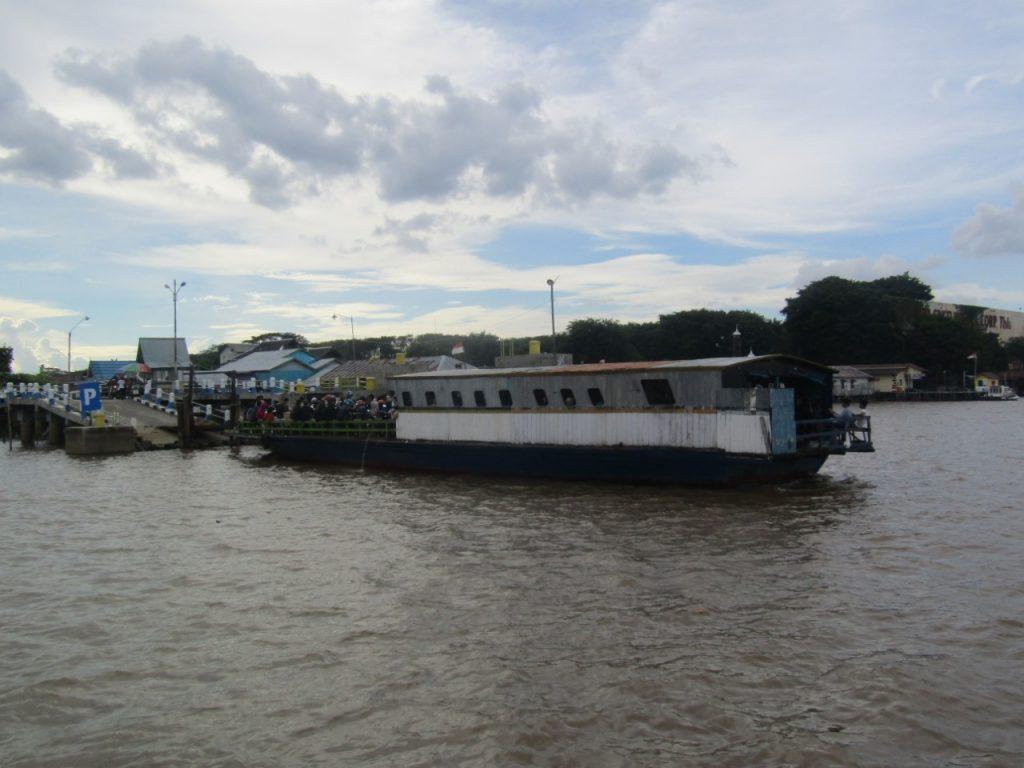Sungai Sebagai Pilihan Transportasi di Kalimantan Selatan (Dokpri)